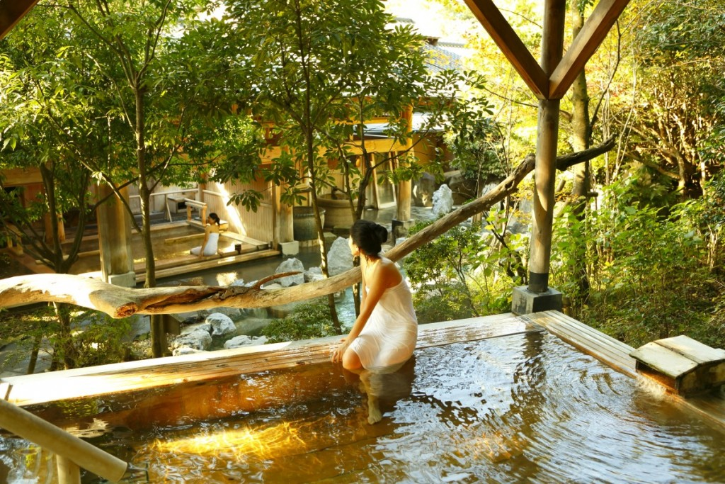 大浴場(檜露天風呂)